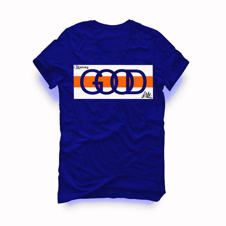 "AIR JORDAN 3 ""KNICKS"" Royal Blue T-Shirt (Good Life)"