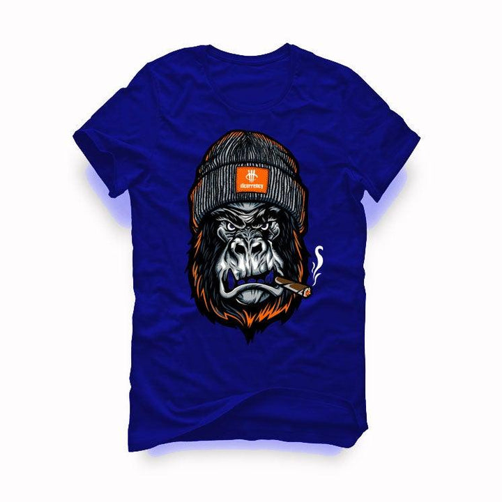 "AIR JORDAN 3 ""KNICKS"" Royal Blue T-Shirt (Gorilla)"