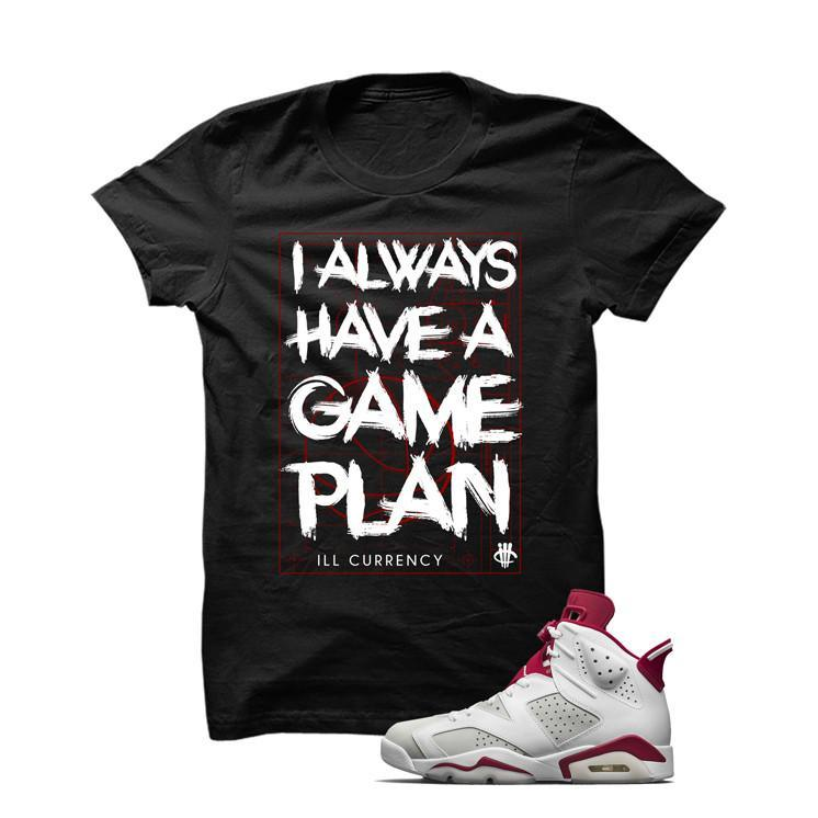 Jordan 6 Alternate Black T Shirt (Game Plan)