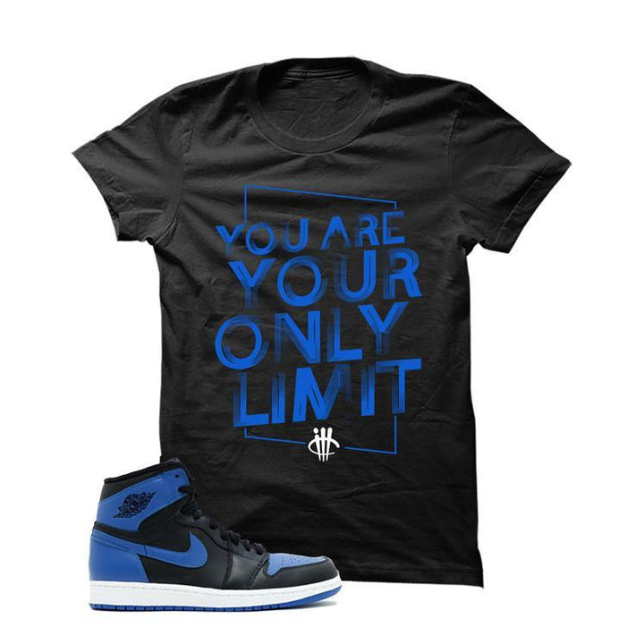 Jordan 1 Og Royal Black T Shirt (Limit)