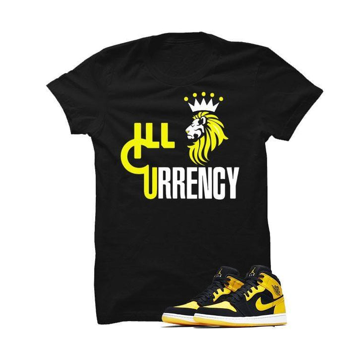 Jordan 1 Mid New Love Black T Shirt (ill lion)