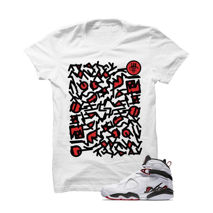 Jordan 8 Alternate White T Shirt (Art)