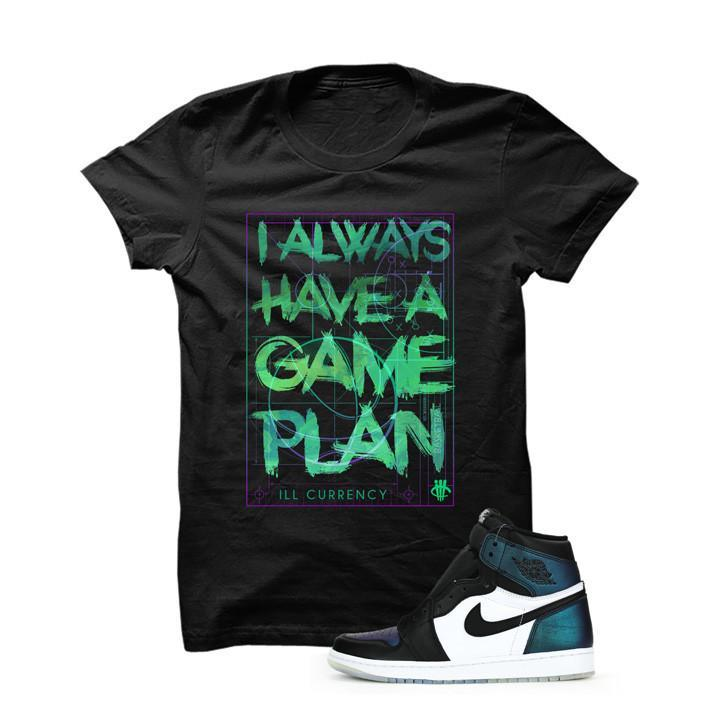 Jordan 1 All-Star Black T Shirt (Game Plan)