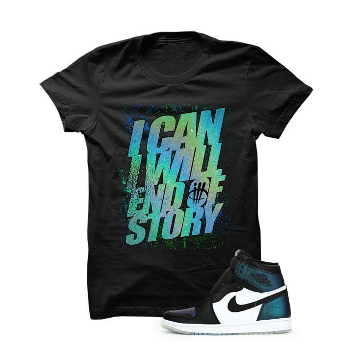 Jordan 1 All-Star Black T Shirt (I Can I Will)