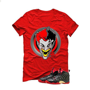 "Nike Little Posite One ""Dracula"" red T (joker)"