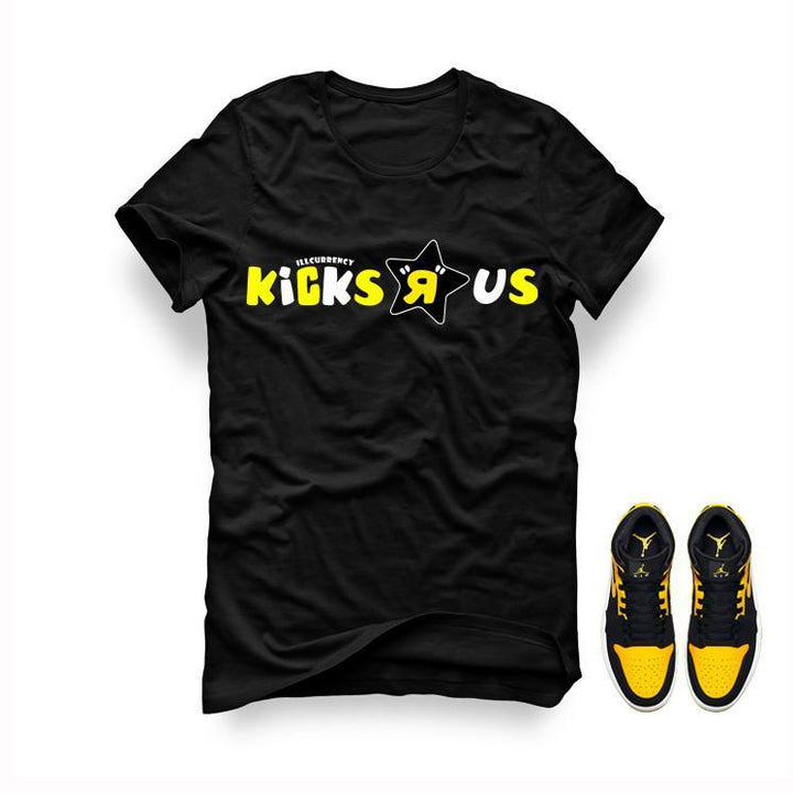 Jordan 1 Mid New Love Black T Shirt (Kicks R us)