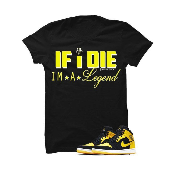Jordan 1 Mid New Love Black T Shirt (Legend)