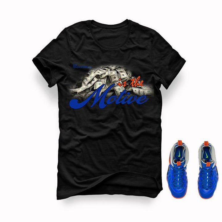 Nerf Nike Little Posite Pro GS Black T (Money is the Motive)