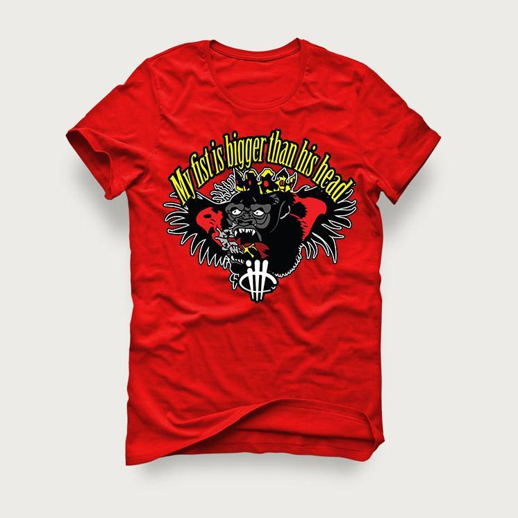 Floyd vs McGregor Red T Shirt (My Fist)