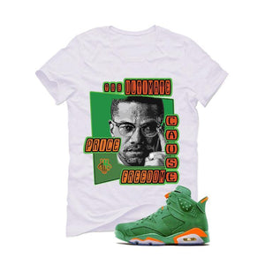 Jordan 6 Gatorade Green White T (ultimate)