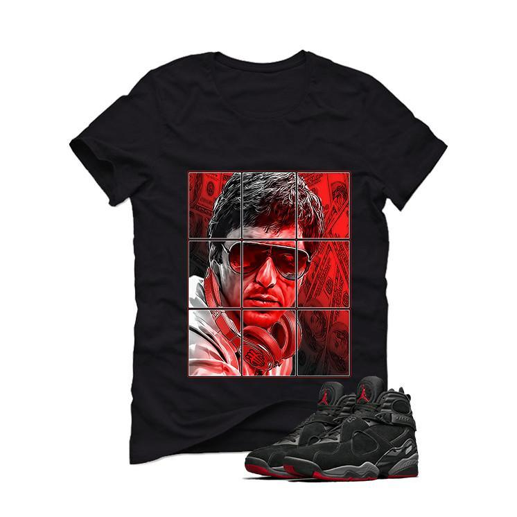 Air Jordan 8 Cement Bred Black T (Pacino)