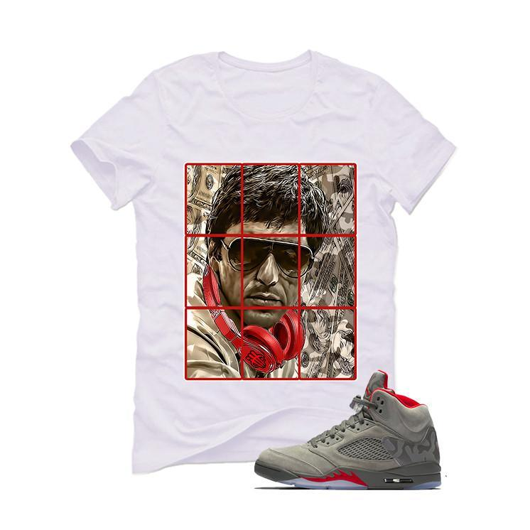 Air Jordan 5 Camo White T (Pacino)