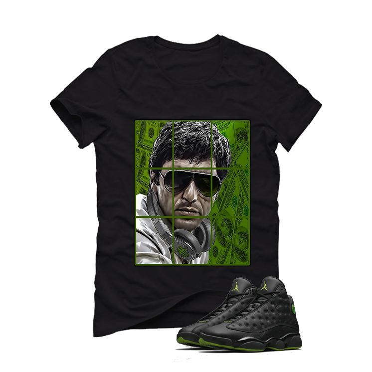 Air Jordan 13 Altitude Black Green black T (PACINO)