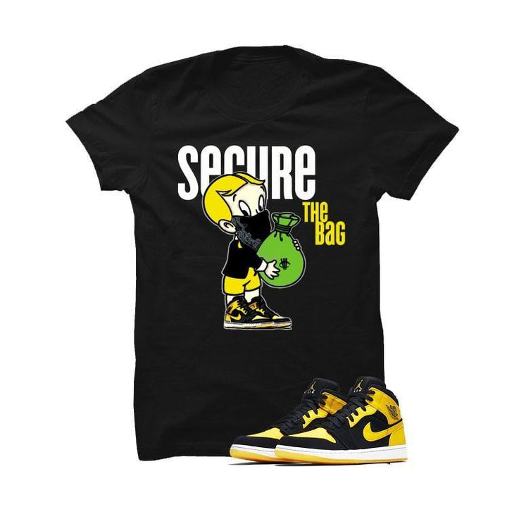 Jordan 1 Mid New Love Black T Shirt (Richie Rich)