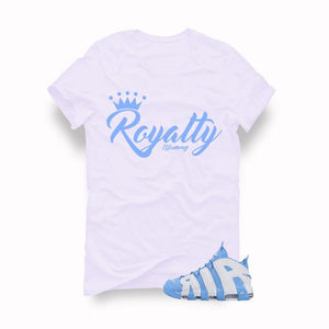 Nike Air More Uptempo UNC White T (Royalty)