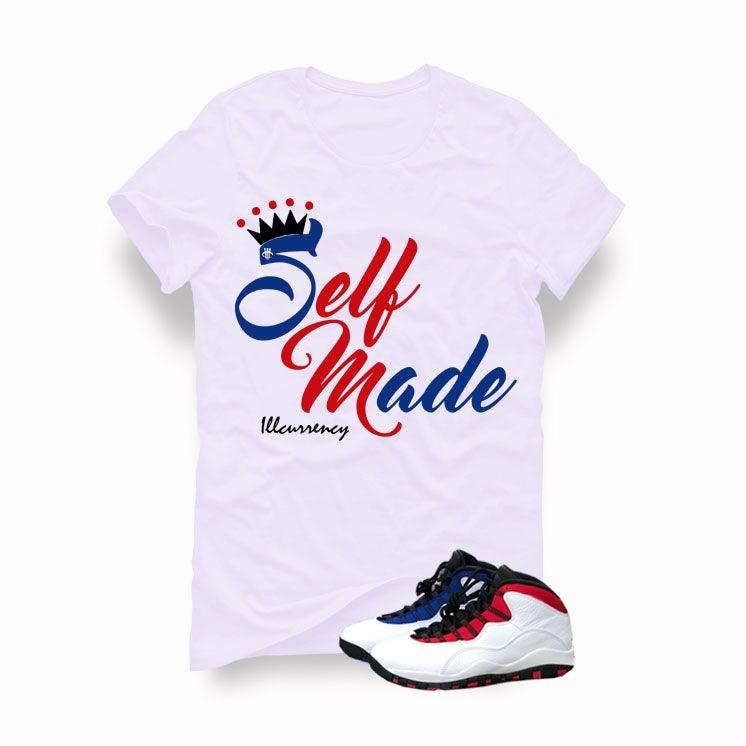 newest collection f1fe2 2e70e Air Jordan 10 Russell Westbrook White T (Self Made)