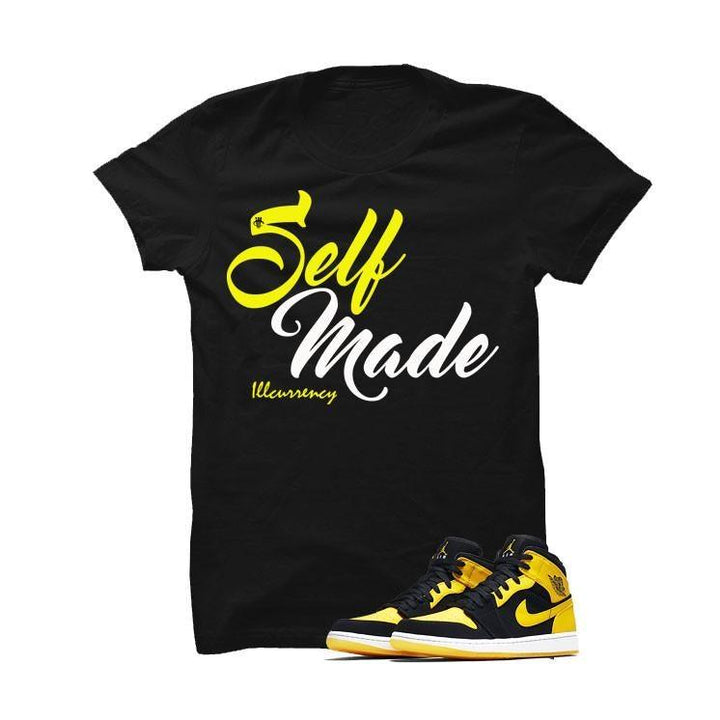 Jordan 1 Mid New Love Black T Shirt (self made)