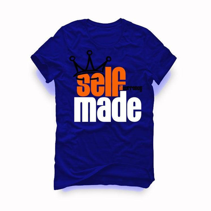 "AIR JORDAN 3 ""KNICKS"" Royal Blue T-Shirt (Self Made)"