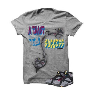 A Toast To Success Bordeaux 7s Grey T Shirt