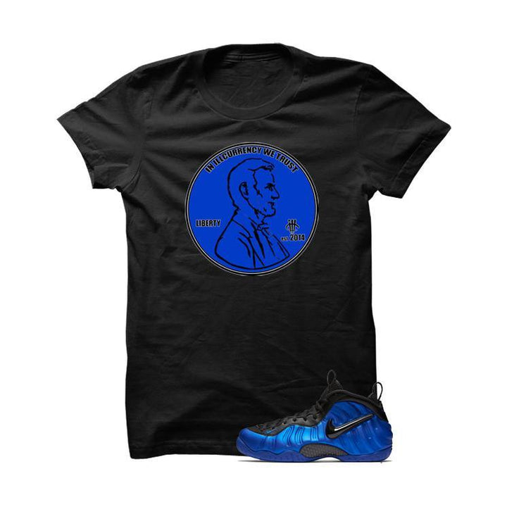 Ben Gordon Nike Air Foamposite Pro Black T Shirt (We Trust)
