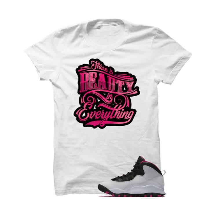 Jordan 10 Gs Vivid Pink White T Shirt (Beauty)