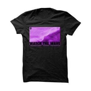 Jordan 12 Gs Hyper Violet Black T Shirt (Catch The Wave)