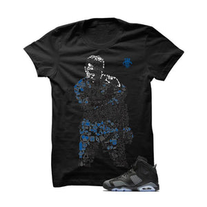 Jordan 6 Gs Cool Grey Black T Shirt (Ali)