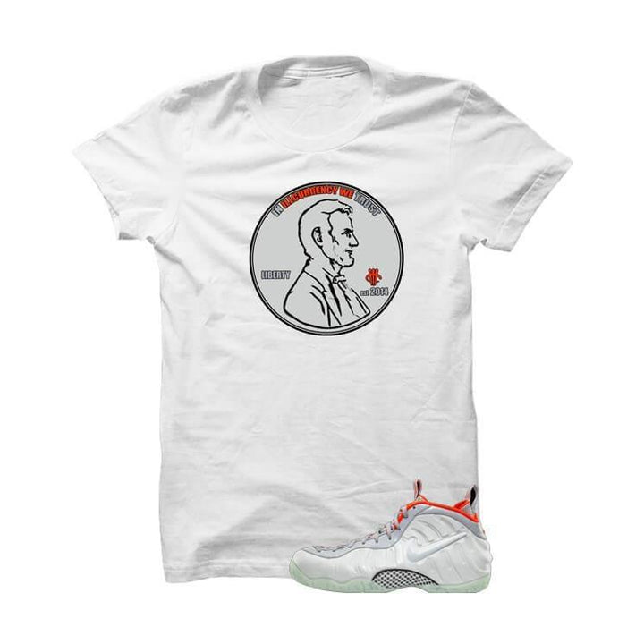 Pure Platinum Pro Foams White T Shirt (We Trust)
