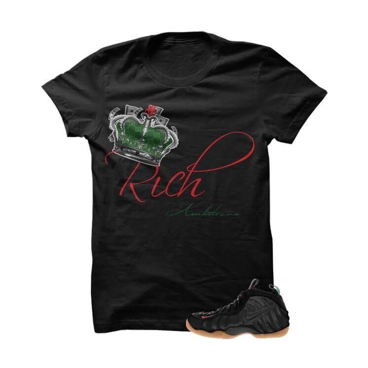 Rich Ambitions Gucci Foams Black T Shirt