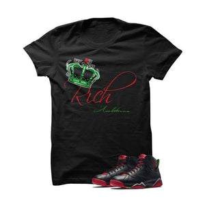Rich Ambitions Marvin The Martian 2 Black T Shirt