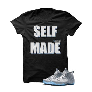Self Made Wolf Grey Foams Black T Shirt