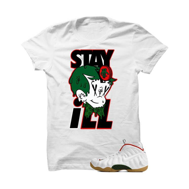 Stay ill White Gucci White T Shirt
