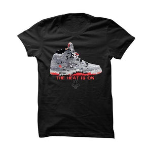 The Heat Is On Lava5s Black T Shirt