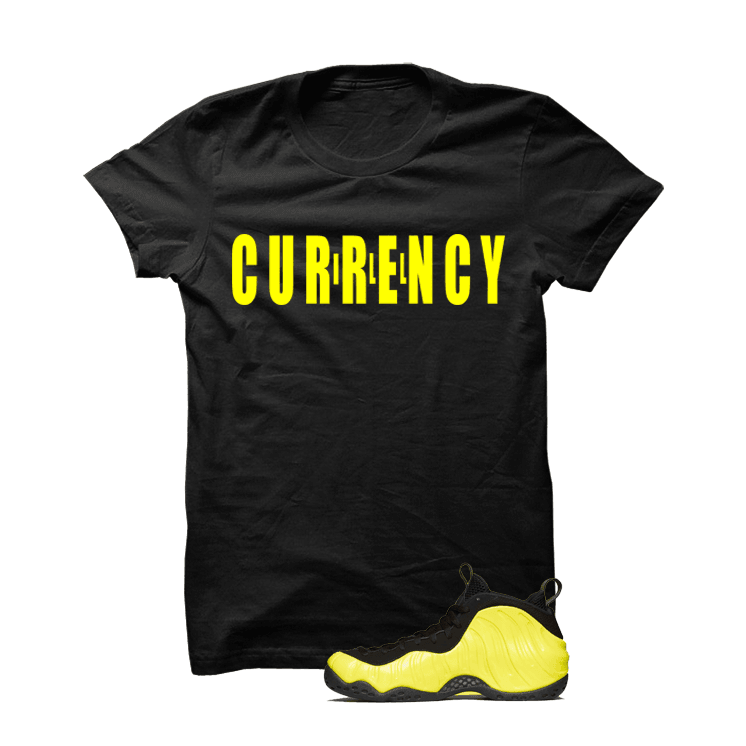 Wu-Tang Foamposite One Black T Shirt (Across)