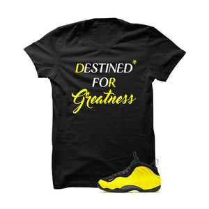 Wu-Tang Foamposite One Black T Shirt (Destined For Greatness)