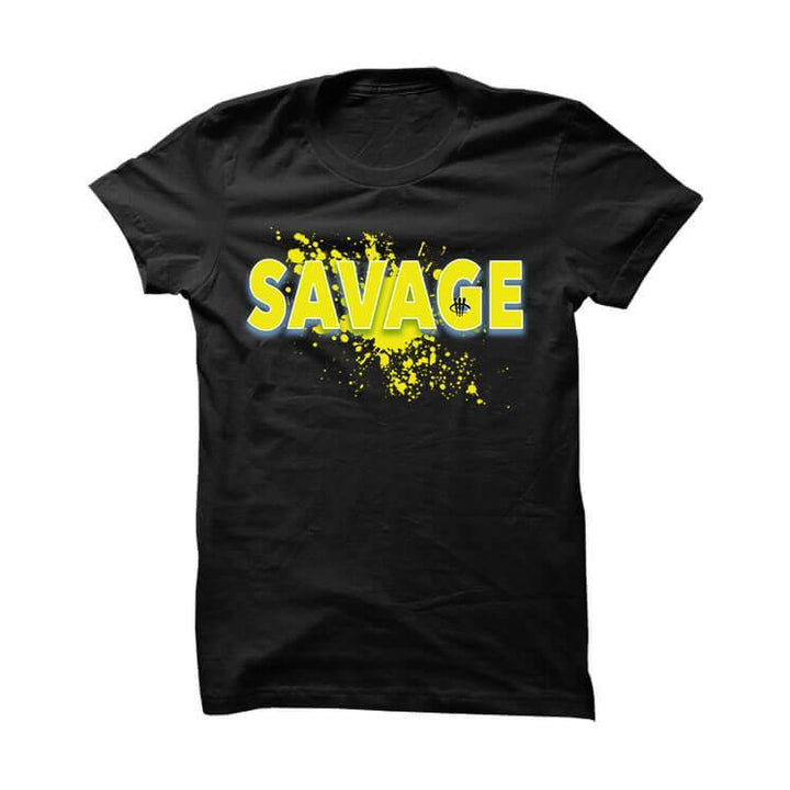 Wu-Tang Foamposite One Black T Shirt (Savage)
