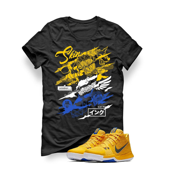 Nike Kyrie 3 Mac and Cheese Kids Black T (Skin and Ink)