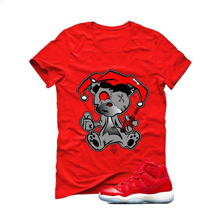 teddy red shirt