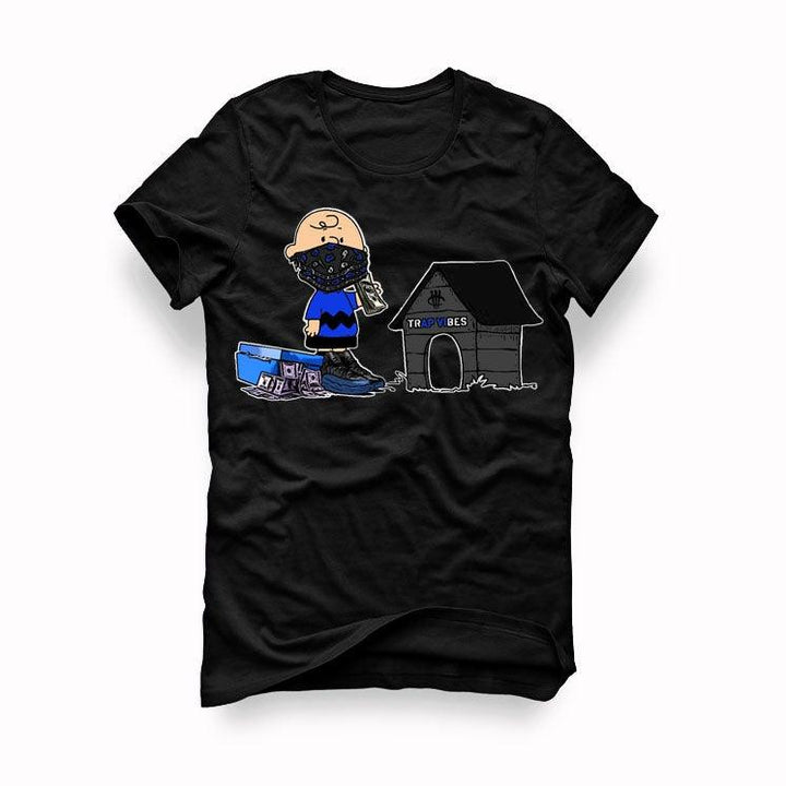 Air Jordan 12 Game Royal 2019 Black T-Shirt (Trap Vibes)