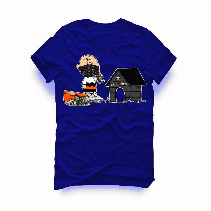 "AIR JORDAN 3 ""KNICKS"" Royal Blue T-Shirt (Trap Vibes)"