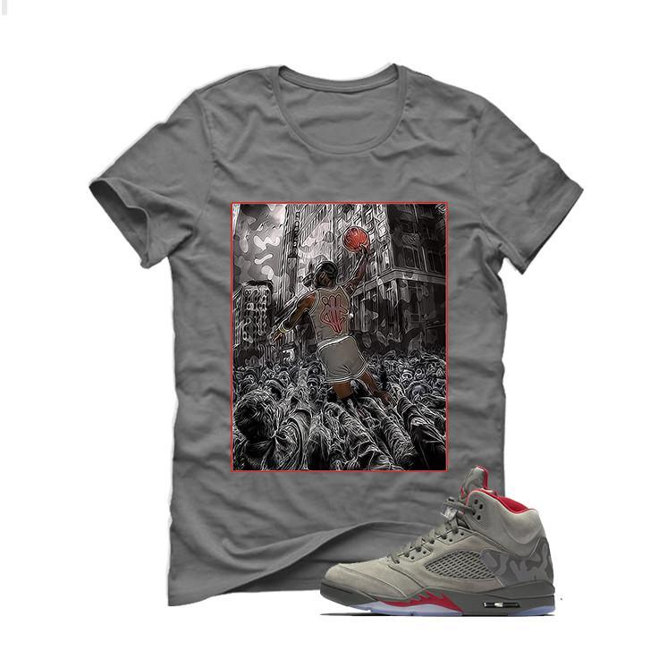 Air Jordan 5 Camo Grey T (Airzomb)