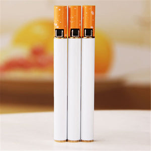 Refillable butane gas lighters (Cigarette Shaped)