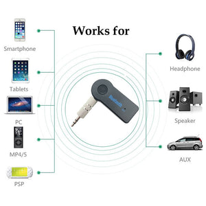 Bluetooth AUX adapter for your Car