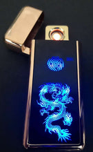 Load image into Gallery viewer, Electronic USB Lighter Turbo Cigarette Lighter
