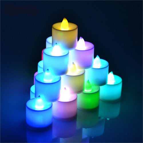Electronic Candle LED Romantic Smokeless & Flameless Candle Christmas lamp