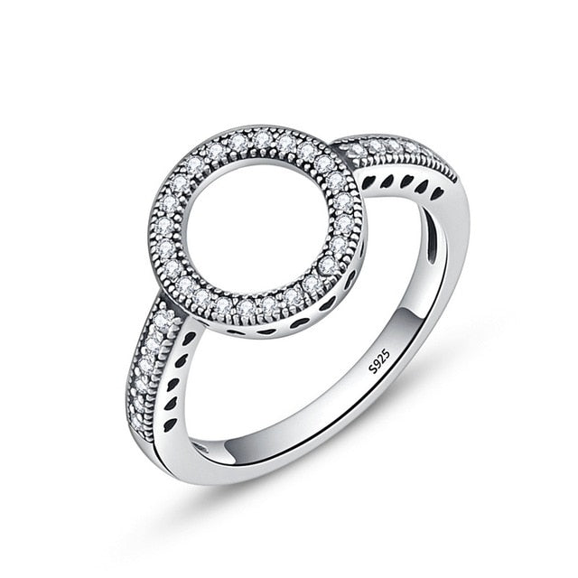 Silver Ring for Women Christmas Gift