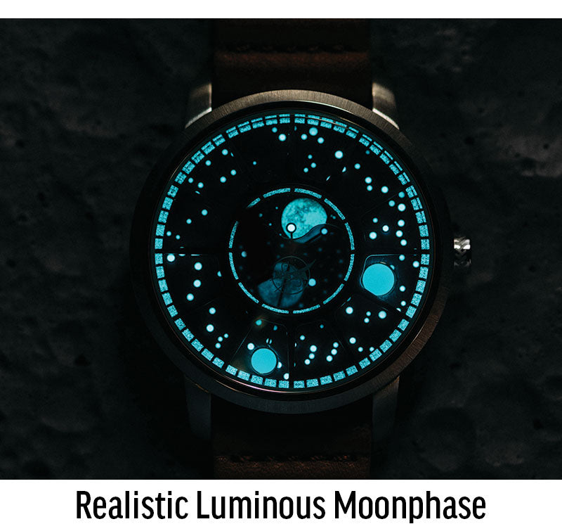 realistic moonphase