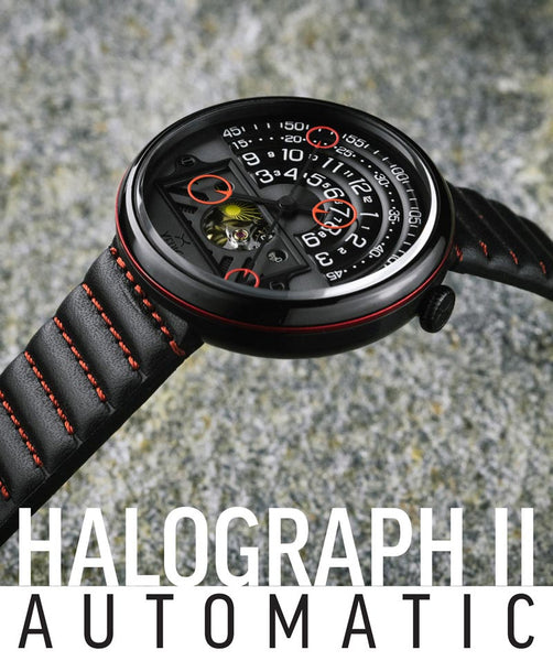 Halograph II Automatic black red