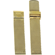 Xeric 22mm Gold PVD Plated Mesh Strap