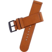 Xeric 22mm Smooth Saddle Leather Strap